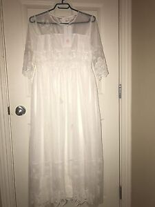 White formal/prom dress NEW
