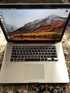 "Retina MacBook Pro 15"" quad core i7/16gb/256gb + extras"