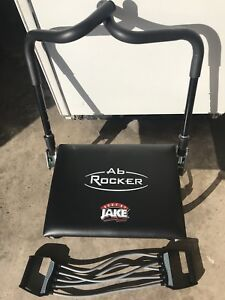 Body By Jake AB Rocker Fitness Work Out Seat Chair AS SEEN ON TV