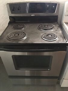 Fridge & Stove Combo (Both are working and in good condition)