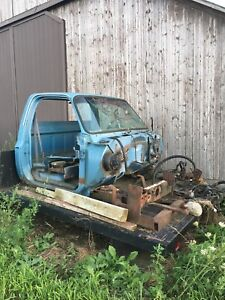 1980 GMC 1 ton parts and Diesel engine