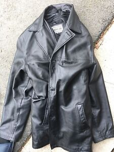 REDUCED! Stylist, near-new men's leather jacket