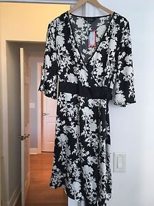 Wrap dress brand new with tags