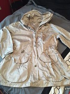 Brand new rain jacket size 2x and jeans size 18