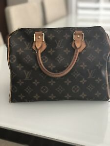 Authentic Louis Vuitton Speedy Handbag