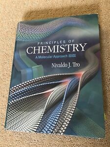 Principals of Chemistry A Molecular Approach Textbook
