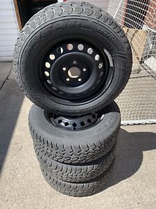 Winter tires and rims