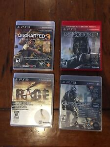 PS3 Games: 4 for $20 or swap/trade