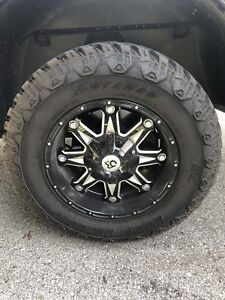 Tires and rim package