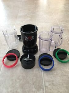 Magic bullet blender and recipe book