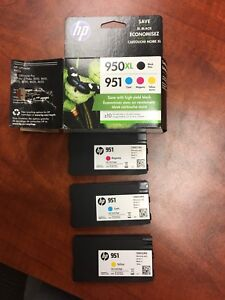 HP 951 & 950XL ink cartridges - new!