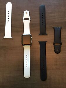Stainless steel Apple Watch series 0