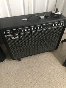Yamaha B212 tube amp