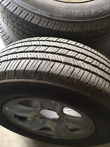 Toyota Tundra rims and tires for sell