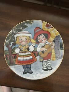 Dolly Dingle collector plate