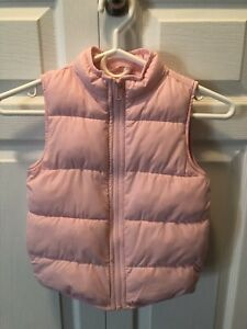 Size Small (5-6) Gymboree Vest for Little Girls