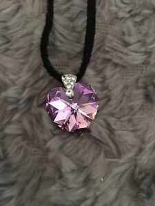 Crystal heart pendant Keilor Lodge Brimbank Area Preview