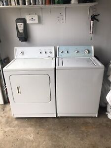 Can deliver/Kenmore washer electric dryer set