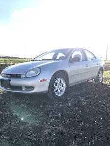 2001 Chrysler Neon **safetied**