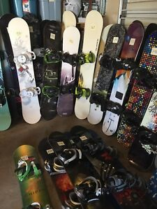 Snowboards - don't go pay retail until you come here first