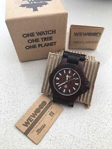 Wooden watch Braddon North Canberra Preview