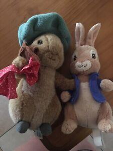 Peter rabbit & Benjamin bunny