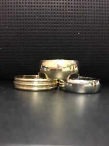Bagues Or 10k Gold Rings