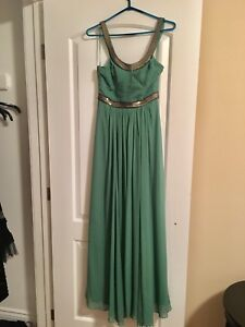Greek goddess bcbg evening gown