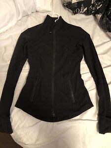 Black lulu lemon define jacket