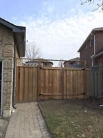 Post replacement , fences , repairs , gates