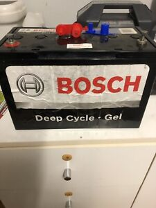 Deep cycle Bosch gel battery