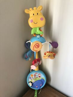 Fisher price wind up mobile