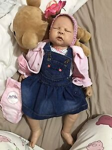 Reborn Baby Girl Lifelike doll Docklands Melbourne City Preview