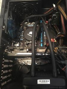 Amd cpu with water cooling motherboard and ram