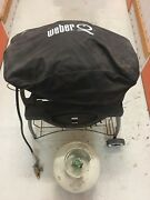 Weber Baby Q with Stand and Gas Bottle Rozelle Leichhardt Area Preview