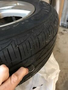 4 HANKOOK OPTIMO ON RIMS