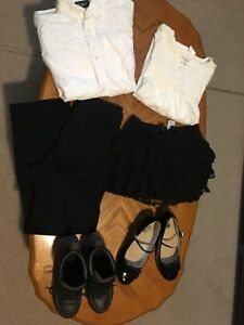 Black and White ( school choir or Xmas ) clothes
