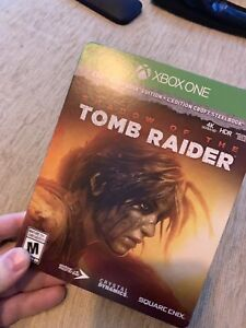 Tomb raider shadow of the tombraider Xbox one