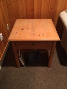 3 Pce Wood Coffee Table, 2 End Tables