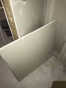 Drywall scrap pieces