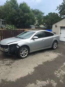 2009 Mazda 6 fully loaded 6 speed manual