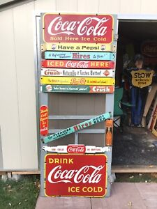 Collector looking for door push bars signs good money paid!