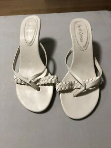 Le chateau sandals size 8