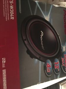 Pioneer Car audio package