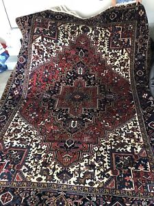 AUTHENTIC ANTIQUE PERSIAN RUGS