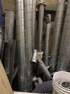 Dust collector pipes