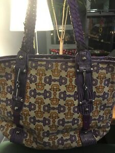 Gucci large purple bag