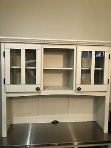 New still in the box.Top hutch for china cabinet