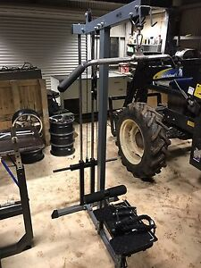 Lat pull down with seated row and tricep extension One Tree Hill Playford Area Preview