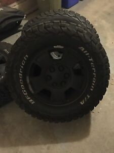 BF Goodrich tires and rims Chevy
